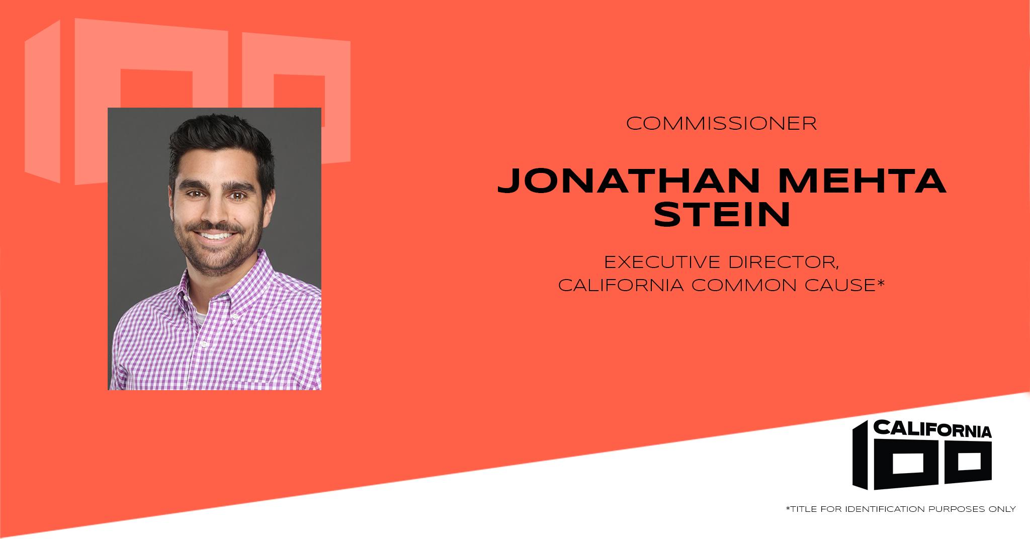 Jonathan Mehta Stein