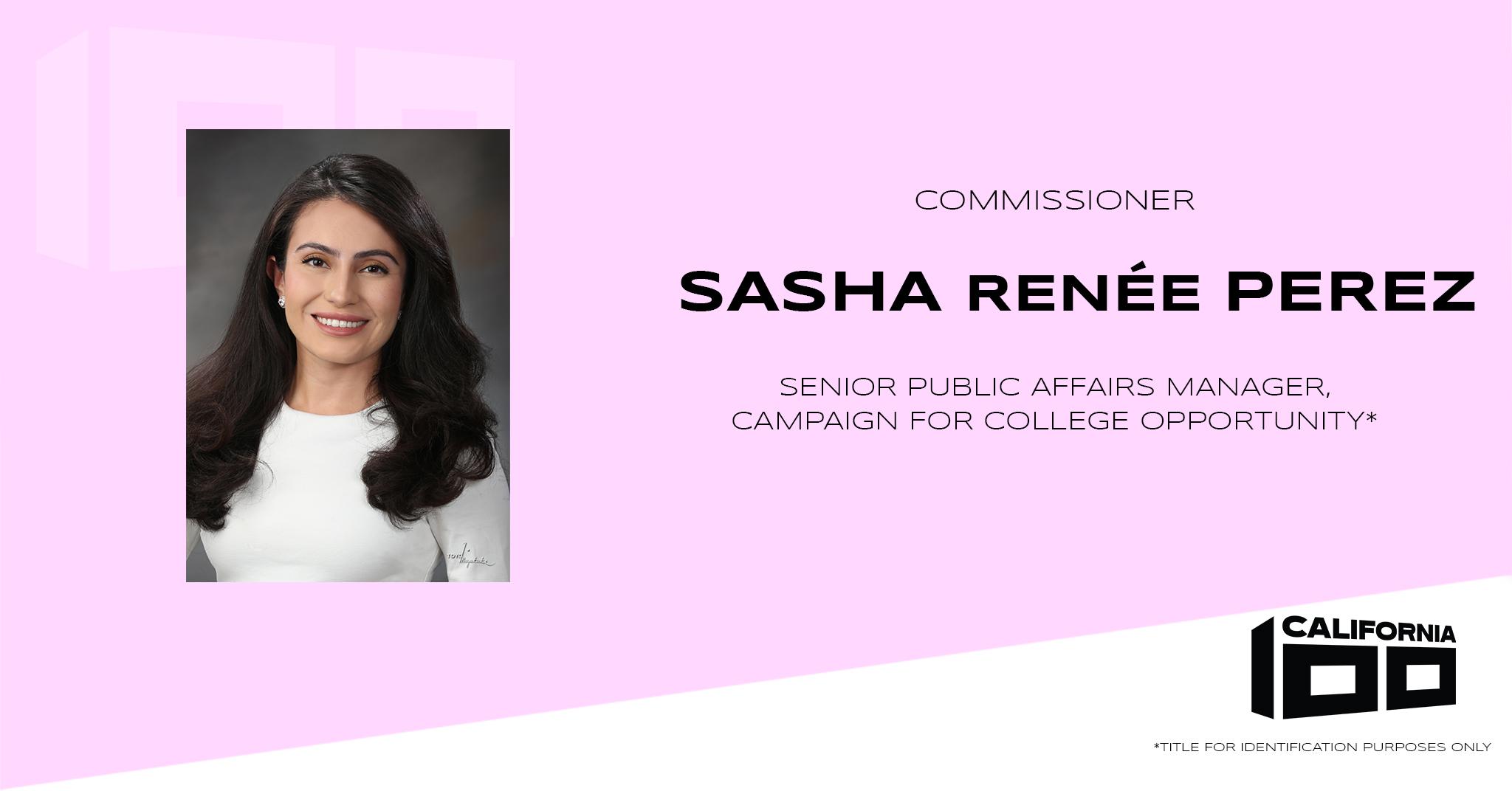 Sasha Renée Perez