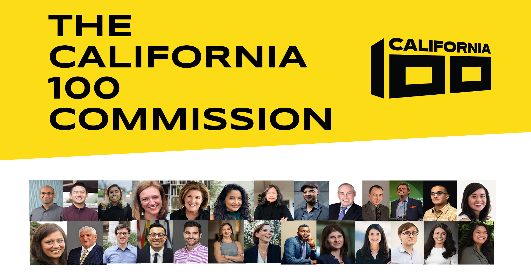 California 100 Announces the Selection of an Intergenerational Commission of Experts to Guide its Work