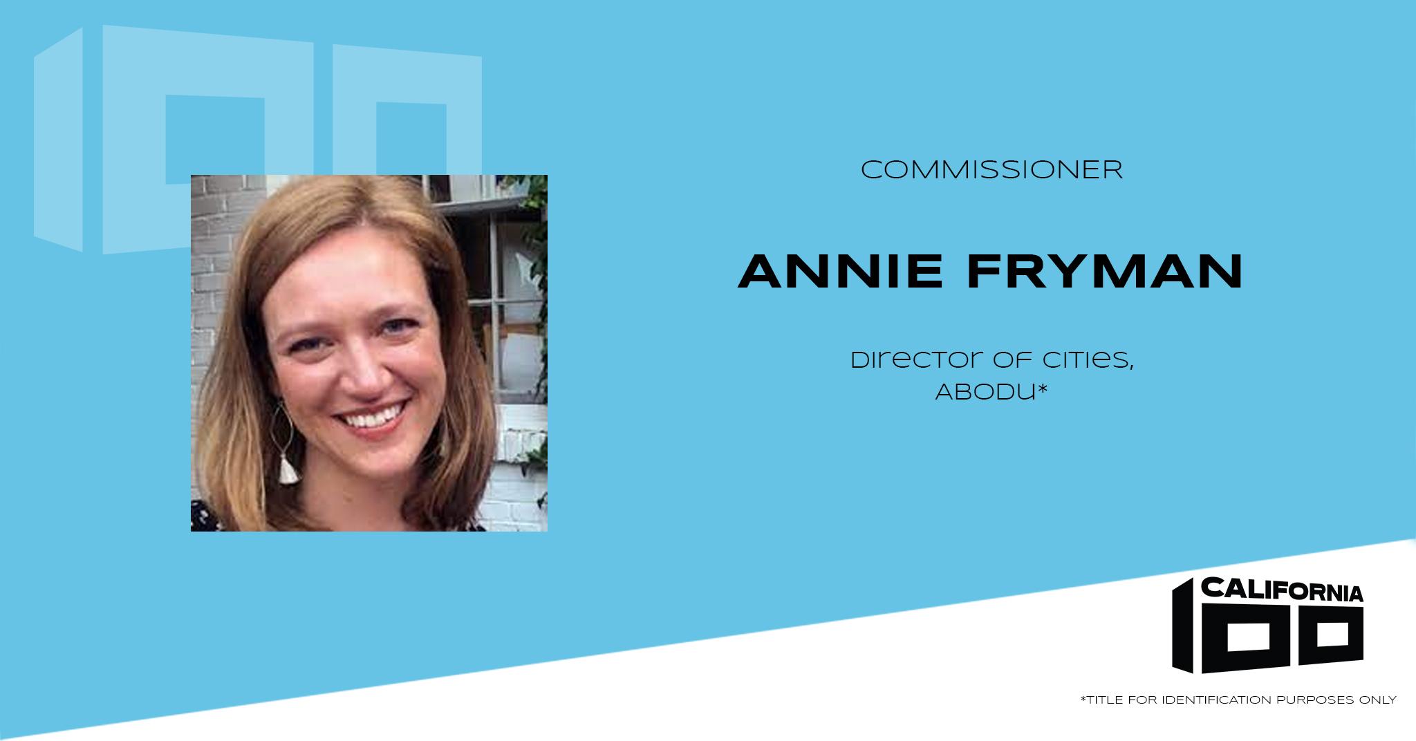 Annie Fryman